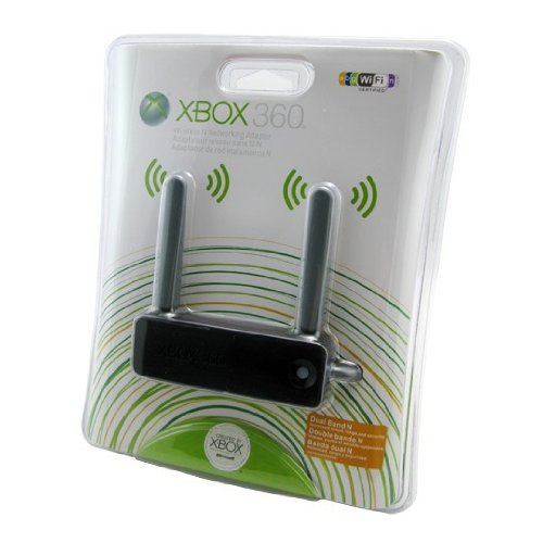 Wireless Network WiFi N Adapter for Xbox 360 Black (Network Adaptor Xbox 360 Wireless)