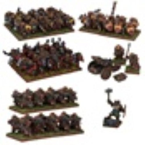 DWARF ARMY - KINGS OF WAR by Mantic Entertainment Ltd.
