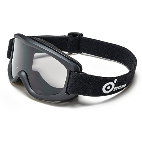 Odoland Snow Ski Goggles S2 Double Lens Anti fog Windproof UV400 Eyewear Skiing, Snowboarding, Motorcycle Cycling and Snowmobile Winter Outdoor Sports Protective Glasses