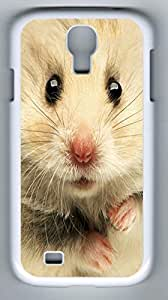 Sweet Hamster Hard Cover Back Case For Samsung Galaxy S4,PC White Case for Samsung Galaxy S4