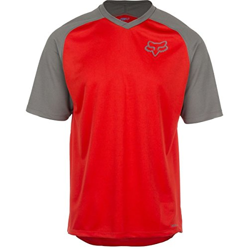 Fox Racing Indicator Limited Edition Jersey - Short Sleeve - Men's Charcoal/Red, M