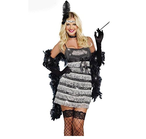 Fancy clothes Adult halloween costumes for women (M) (Sexy Gay Halloween Costumes)
