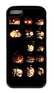 for iphone 4/4s Case Pumpkin halloween 2 TPU for iphone 4/4s Case Cover Black