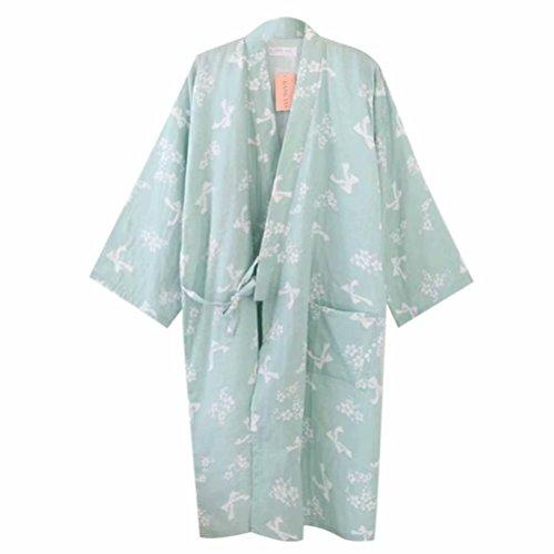レディース パジャマ 浴衣 半袖 前開き リボン 可愛い浴衣 お寝巻 ねまき パジャマ お風呂 温泉 二重袷和 綿100% レディースパジャマ 肌触り良い 寝間着