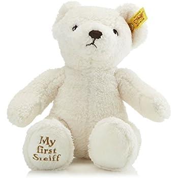 Steiff My First Steiff Teddy Bear Plush, Cream