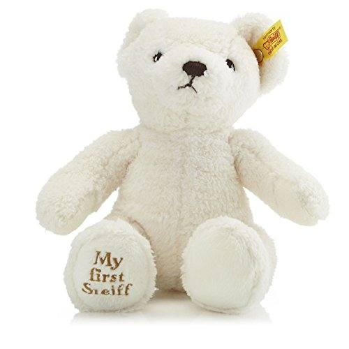 Steiff My First Steiff Teddy Bear Plush, Cream