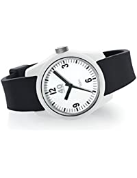 Women's 'BASIC' Quartz Plastic and Silicone Casual Watch, Color:Black (Model: 40N2.2.1L)