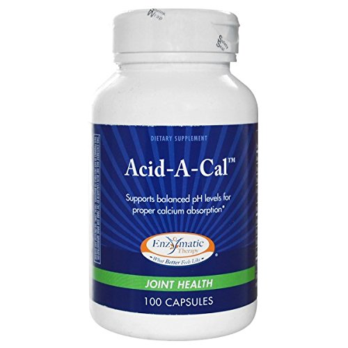 Enzymatic Therapy Acid-A-Cal 100 caps ( pack of 2)