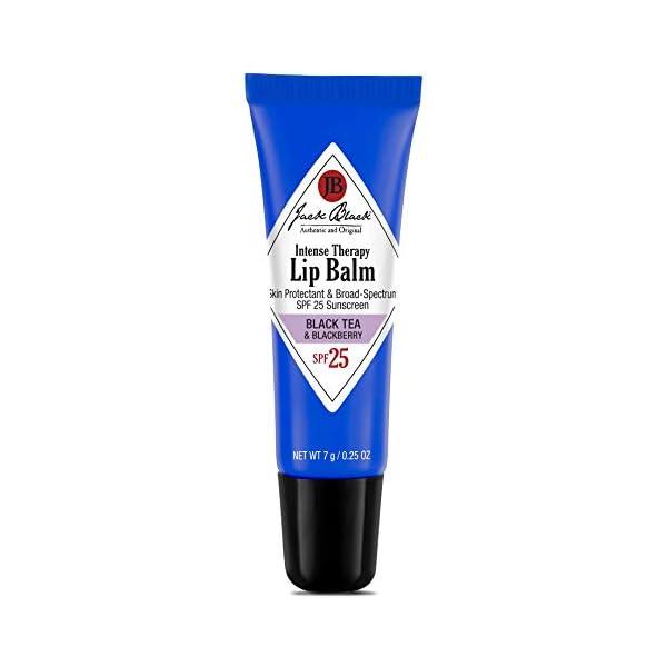 JACK BLACK – Intense Therapy Lip Balm SPF 25 – Green Tea Antioxidants, Long Lasting Treatment, Broad-Spectrum UVA and UVB Protection