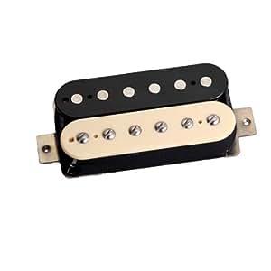 Tonerider TRH1 Rocksong - Pastilla humbucker para guitarra eléctrica, color blanco y negro