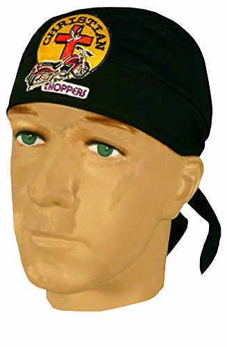 - Buy Caps and Hats Christian Doo-Rag with Sweatband Motorcycle Skull Cap Bikers Do-Bandana (Christian Choppers Motorcycle Dove Cross Patch)
