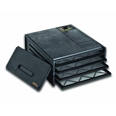 Excalibur 2400 4-Tray Economy Dehydrator, Black