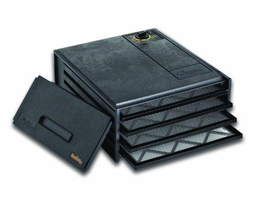 Excalibur 2400 4-Tray Economy Dehydrator, Black 417mPMC2gsL