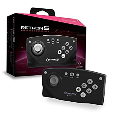 Hyperkin RetroN 5 Bluetooth Wireless Controller (Black)