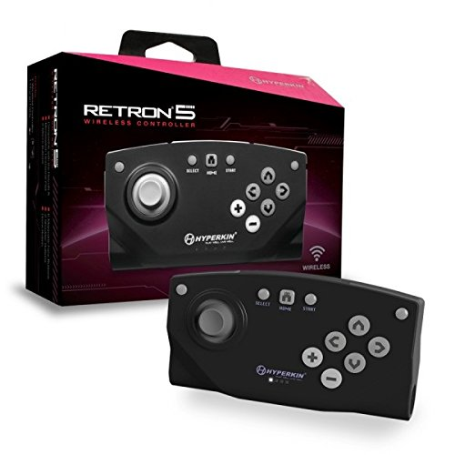 Hyperkin RetroN Bluetooth Wireless Controller Black