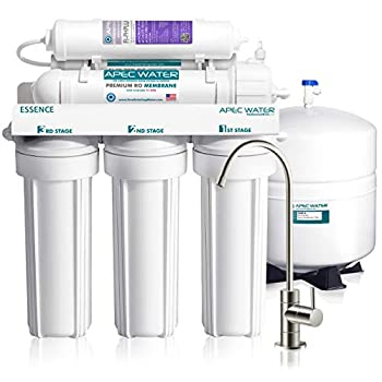Image of APEC Top Tier Alkaline Mineral pH+ 75 GPD 6-Stage Ultra Safe Reverse Osmosis Drinking Water Filter System (ESSENCE ROES-PH75)