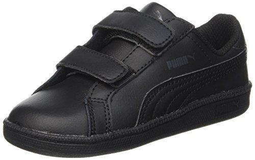 Puma Smash Fun L V - Zapatillas de deporte Unisex Niños Negro (Black/Black 05Black/Black 05)