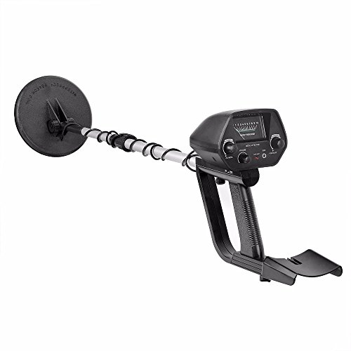 (HHAO Metal Detector-Professional Adjustable Metal Finder Lightweight Gold Digger Waterproof Search Coil)