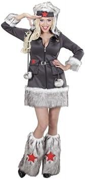 Disfraz Ruso soldatin Mujer L 40/42 Sexy Girl Militar Soldado Army ...