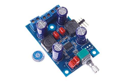 SMAKN® TPA3123 Digital Stereo Amplifier Class D Power Amp Kit Mini Audio Ampli Module 25Wx2 DC 10-25V Powered