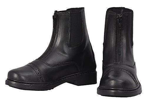 33f5351c7 TuffRider Children's Starter Front Zip Paddock Boots, Black, 8