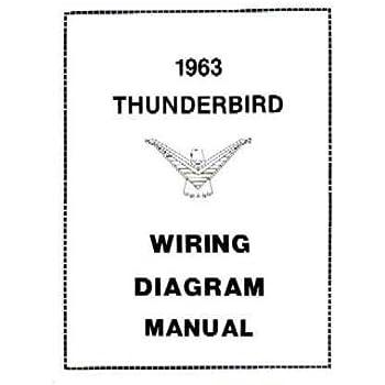 1963 ford thunderbird wiring diagrams schematics