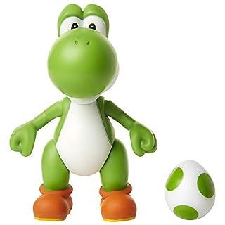 """SUPER MARIO Nintendo 4"""" Green Yoshi with Egg"""