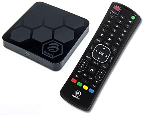 BuzzTV XR4000 & ARQ100 – Android 9.0 IPTV Set-Top Box – Faster Than Ever Before – 4K Ultra HD – 2GB RAM 16GB Storage…