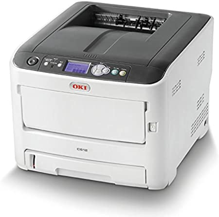 OKI C612N - Impresora con tecnología laser LED, color blanco: Oki ...