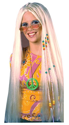 Braided Hippie Wig Costume Accessory