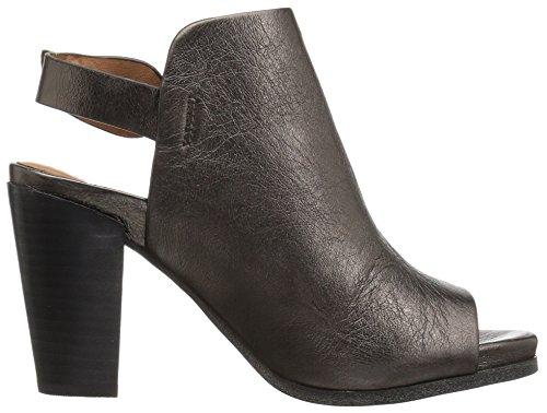 Milde Sjeler Kvinners Shiloh Slingback Peep Toe Bootie Ankel Boot Tinn