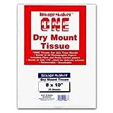 Dot Line IM-DT810/25 Dot Line Dry Mount Tissue 8X10 25 Sheets