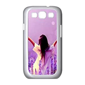 Lavender Unique Design Cover Case for Samsung Galaxy S3 I9300,custom case cover ygtg-329891