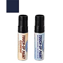 ExpressPaint Half-Ounce Jar Toyota RAV4 Automotive Touch-up Paint - Nautical Blue Metallic Clearcoat 8S6 - Color + Clearcoat Package