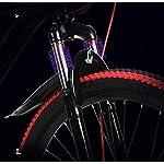GASLIKE-Bicicletta-da-26-Pollici-Mountain-Bike-Telaio-in-Acciaio-ad-Alto-tenore-di-Carbonio-e-Lega-di-Alluminio-Doppio-Freno-a-Disco-PVC-e-Tutti-i-Pedali-in-Alluminio