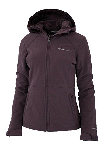 Columbia Women's Alpine Fir Windproof Fleece Lined Softshell Hooded Jacket (Large)
