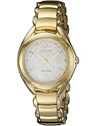 Citizen Eco-Drive Womens FE2072-89A Silhouette Watch