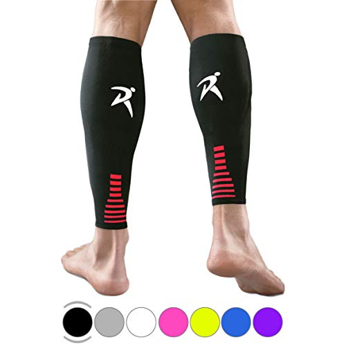 Rymora Calf Compression Sleeves Men Women Shin Splints Running (Pair