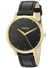 Nixon Unisex The Kensington Leather Gold/Black
