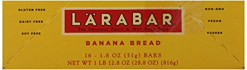 Larabar Gluten Free Bar, Banana Bread, 1.8 oz Bars (16 Count), Whole Food Gluten Free Bars, Dairy Free Snacks by LÄRABAR (Image #7)