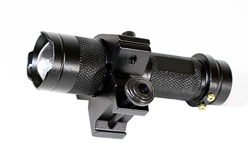 350Lm CREE LED Tactical Gun Rifle Shotgun flashlight Mount H