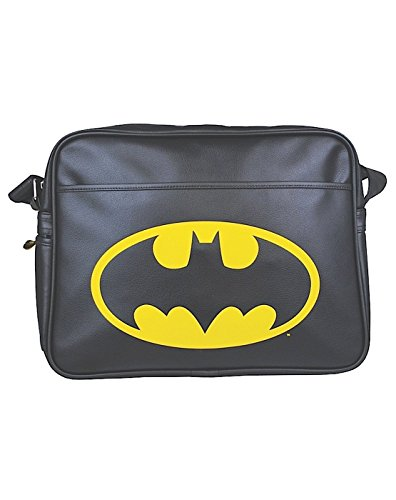 Unisex-Adultos - Official - Batman - Bolsa De Mensajero