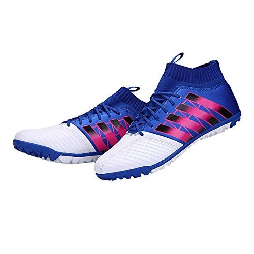 Football shoes Broken Nail Anti-Skid Soccer Boots Sports Training Sneakers White 38