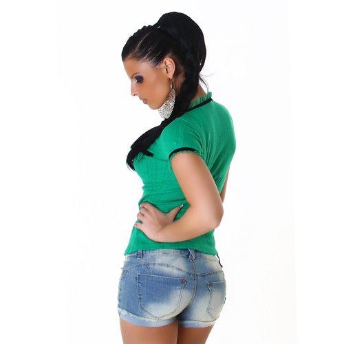Top Shirt Manches Mesdames Vert Shirts T courtes nummer zwoelf Shirt Blouse w4q7ZZ