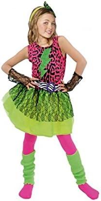 Partilandia Disfraz Estrella del Pop 80s niña Infantil para ...