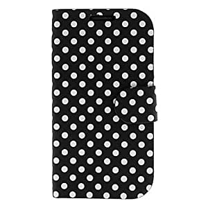 GOG-ships in 48 hourssold out Stylish Dots Pattern PU Leather Full Body Case for Samsung Galaxy S3 I9300 (Assorted Colors)