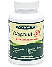 Absorb Science : Viagreat-SX (Male Enhancement) - 40 Capsules