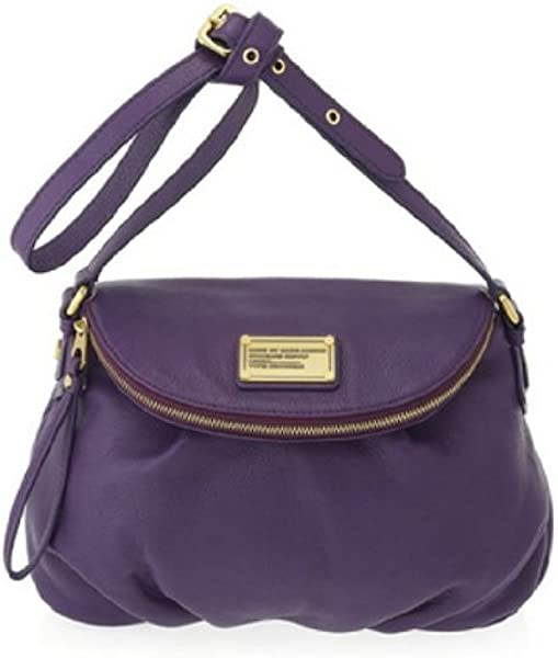 a4191afbdf47 Amazon.com  Marc Jacobs Classic Q Natasha Purse Bag Pansy Purple  Shoes