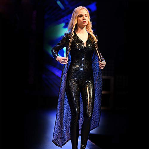 Mujer Disfraces Completo De Negros Xsqr Escenario Tight Mono 3d Jumpsuit tl Galaxy Barra Emulsión Cuerpo 002 Sexy qRwnwBOUE