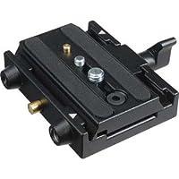 Adaptador de conexión rápida Manfrotto 577 con placa de montaje deslizante para trípodes Bogen /Manfrotto
